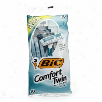 Bic Comfort Twin Impressible Concerning Men, Disposable Shaver