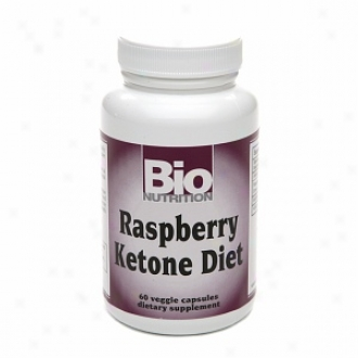 Bio Nutrition Raspberry Ketone Diet, Veggie Caps