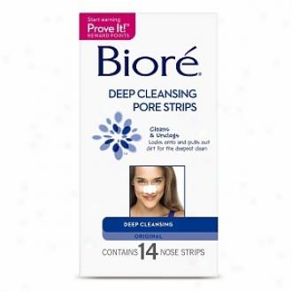 Biore Deep Cleansing Orifice Strips