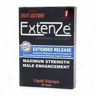 Biotab Nutracetuicals Extenze Maximum Strength Male Enhancement, Gelcaps