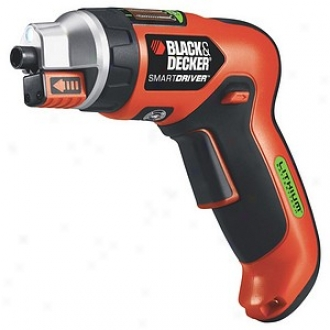 Black & Decker Power Tools 3.6 Volt Lithium Ion Smartdriver With Exclusive Magn