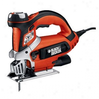 Black & Decker Power Tools 5.5 Amp Scrolling & Orbital Action Jigsaw Js700k