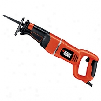Black & Decker Power Tools 7.5 Amp Variable Speed Reciprocating Saw Kit Rs500k