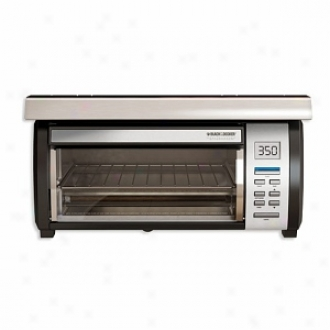 Black & Decker Spacemaker Diigital Toaster Oven Model Tros1000