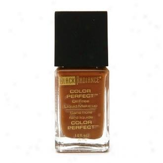 Negro Brilliance Color Accomplish Oil Free Liquid Makeup, Rum Spice