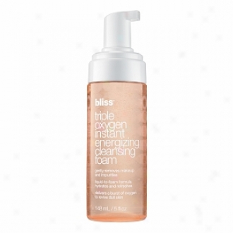 Bliss Triple Oxygen Instant Engerizing Cleansing Foam