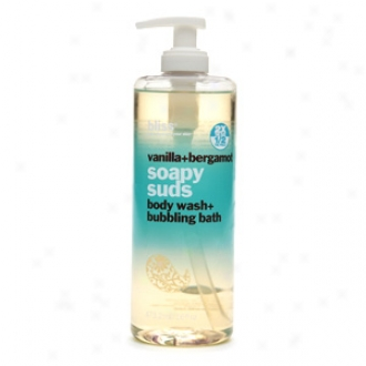 Bliss Vanilla + Berrgamot Soapy Suds Body Wash + Bubbling Bath