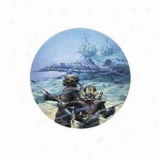 Blue Opal 20,000 Leagues Under The Sea Jigsaw Puzzle Ages 10+