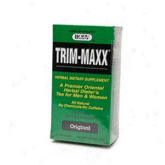 Body Breatkhrough Trim-maxx Herbal Dieter's Tea For Men & Women, Original