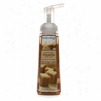 Bodycology Anti-bacterial Foaming Hand Soap, Brown Sugar Vanilla