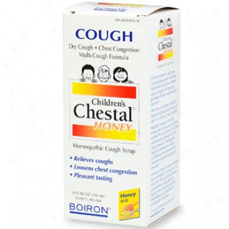 Boiron Children's Chestal Honey Homeopathic Cough Syrup