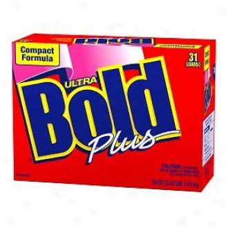 Bold Ultra Powder Detergent Compact Formula Plus, 31 Loads