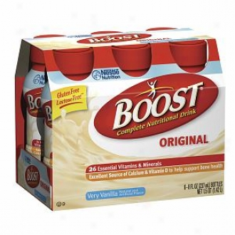 Boost Original, Complete Nutritional Drink, Bottles, Very Vanilla