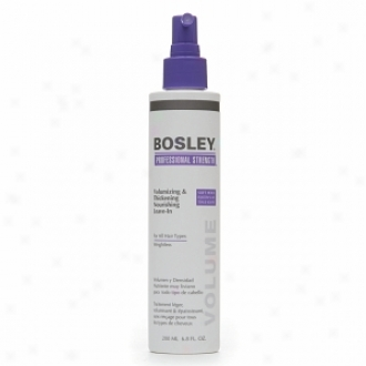 Bosley Professional Strength Volumizing & Thikening Nourishing Leave-in For All Hair Types, Soft Hold