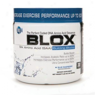 Bpi Blox Silk Amino Acid Building Blocks, Blue Raspberry