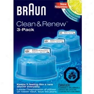 Braun Clean & Renew Refill