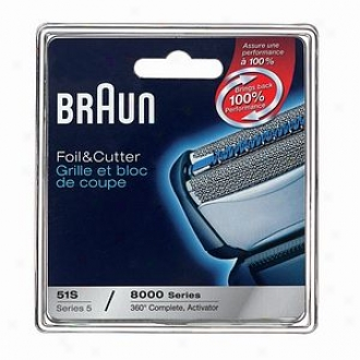 Braun Shave Accessories Series 5 Combination 51s Form 8000 360+act