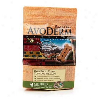 Breeder's Choice Avoderm Natura lKookies Healthy Oven Baked Treats For Dogs, Potato & Duck Meal