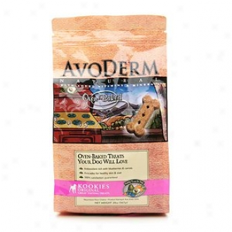 Breeder's Choice Avoderm Natural Kookies Healthy Oven Baked Treats For Dogs, Original