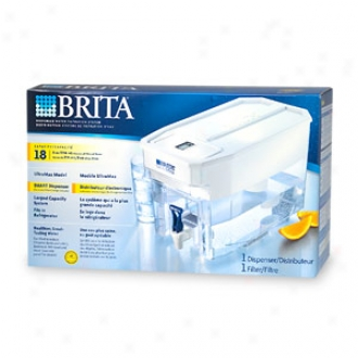 Brita Ultramax, Dispenser Water Filtration System