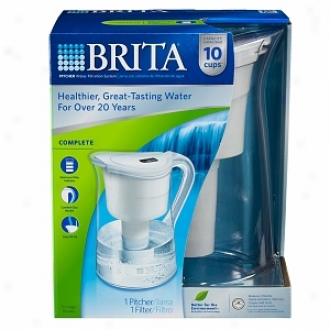 Brita Sprinkle and calender  Filtration System, Complete With 10 Chalice Vintage Pitcher