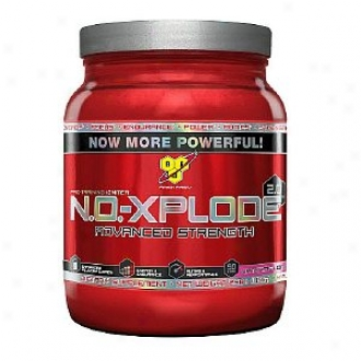 Bsn N.o.-xplode 2.0 Advanced Strength, Extreme Pre-training Performance Igniter, Watermelon