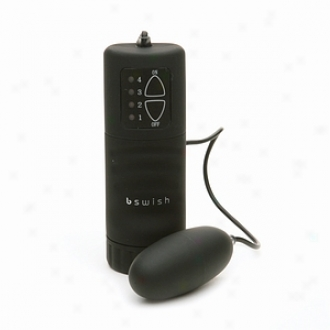 Bswish Bnaughty Portable Vibrating Water Proof Bullet, Black