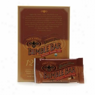Bumblebar Organc Energy Snack Bar, Chocolate Peanut Butter