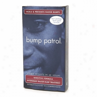 Bump Patrol Aftershave Razor Bump Handling, Sensitive Formula