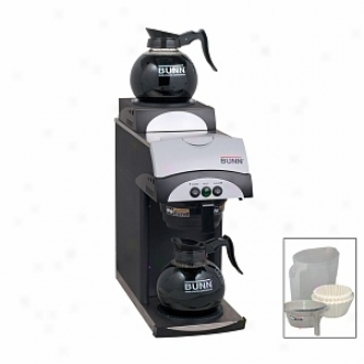 Bunn 12-cup Commercial Pourover Coffee Brewer Bonus Pack Model 392bp