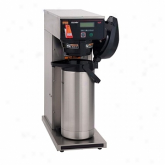 Bunn Dv Aps Axiom Dual Voltage Airpot Coffee Brewer With Lcd