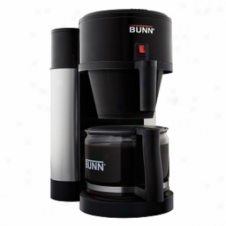Bunn Nhbbd Velocity Brew High Altitude Contemporary 10-cup Home Brewer, Black