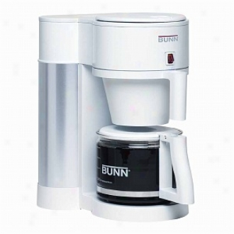 Bunn Nhbw Velocity Brew Contemporary 10-cup Home Brewer, Wbite