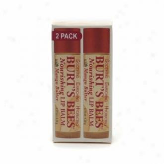 Burt's Bees 100% Natural Nourishing Lip Balm, Mago Butter