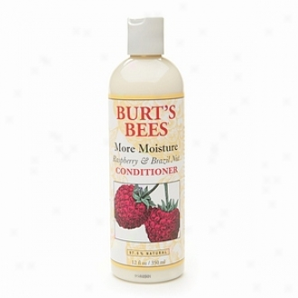Burt's Bees More Moisture, Raspberry &akp; Brazil Nut, Conditioner