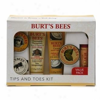 Burt's Bees Tups N' Toes Kit
