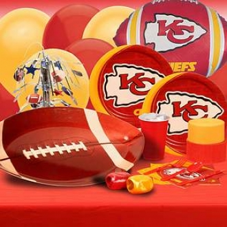 Buyseasons Costumes Kansas City Chiefs Deluxe Party Kid (8 Guests)