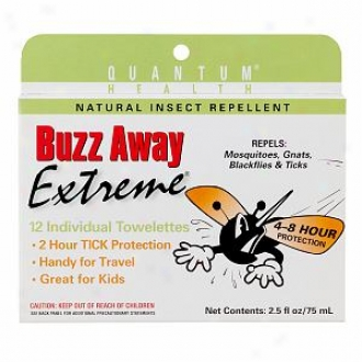 Buzz Away Insect Repellent Towelettes