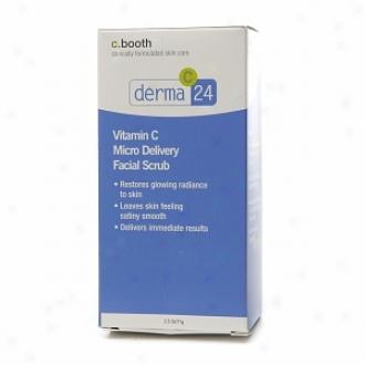 C. Booth Derma C 24 Vitamin C Micro Delivery Facial Scrub