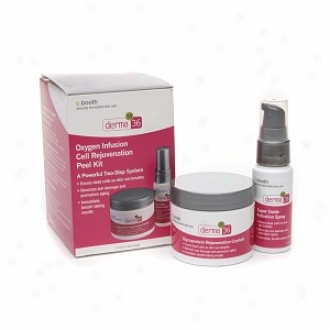 C. Booth Derma M 36 Oxyegn Infusion Cell Rejuvenation Peel Kit