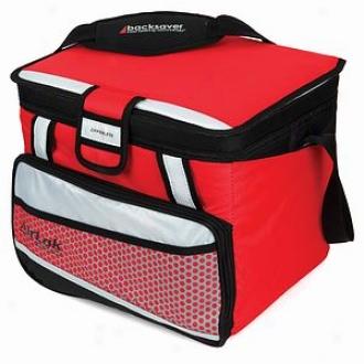 California Innovations Cooler Jumbo Zipperless Hardbody Red 1-97241-05-04, 24 Can