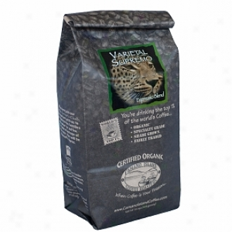 Camano Island Coffee Roasters Organic Whole Bean Coffee, Varietal Supremo/espresso Blend