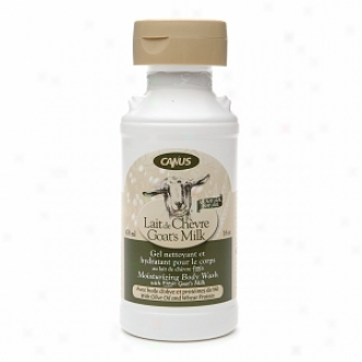 Canus Goat's Milk All Natural Moisturizing Body Wash, Olive Oil & Wheat Protein