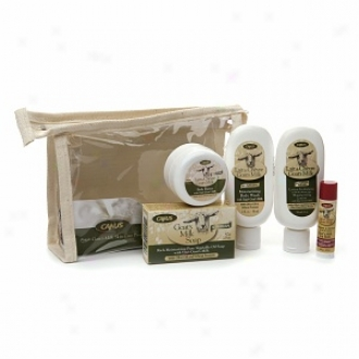 Canus Goat's Milk All Natural Trial Size Donation Set, With Olive Oil And Wheat Protein