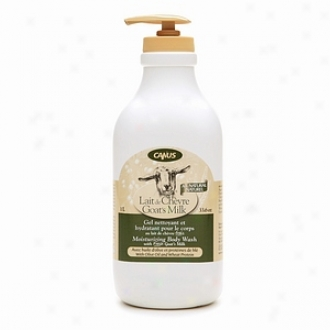Canus Goat's Milk Moisturizing Body Wash, Olive Oil And Wheat Protein