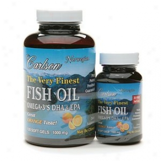 Carlson The Very Finest Fish Oil, Value Pack, Softels, Orange