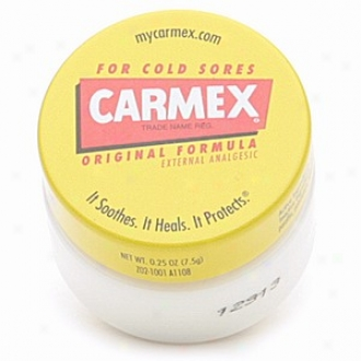 Carmex Cold Sorely Reliever And Lip Moisturizer, Jar