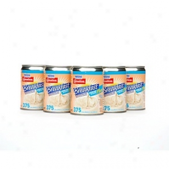 Carnation Moment Breakfast Lactose Free Plus Balanced Nutritional Drink, 24 Cans, Vanilla/vanilla Swirl