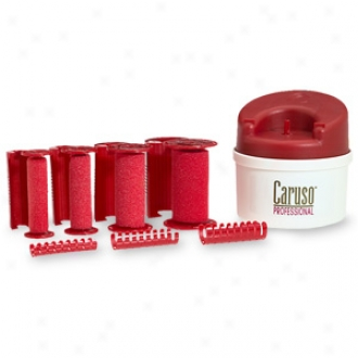 Caruso Saoonpro Molecular Steam Hairsetter, 30 Rollers, 5 Sizes