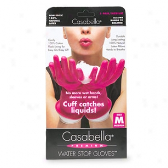 Casabella Premium Water Stop Gloves, Intervening substance